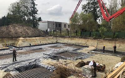 Start bouw Residentie Jubelhof