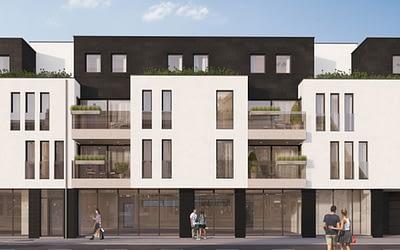 Residentie De Valk, Putte: Laatste appartement en handelsruimte te koop!